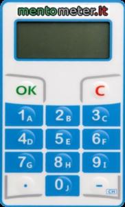 televoter mentometer mini display